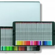 Staedtler Karat Aquarell Premium Watercolor Pencils, Set of 60 Colors (125M60)
