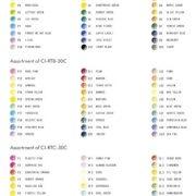 Tombow Irojiten Color Dictionary Color Wooden Pencil Set – 30 Color Set (Tones: Pale II Deep II & Light Grayish I)