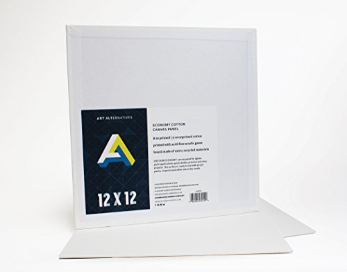 Canvas Panel 12×12 Pack Of 12