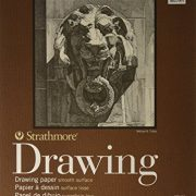 Strathmore 400 Smooth Surface Wire Bound Drawing Pad, 9 x 12 Inches (ST400-104)