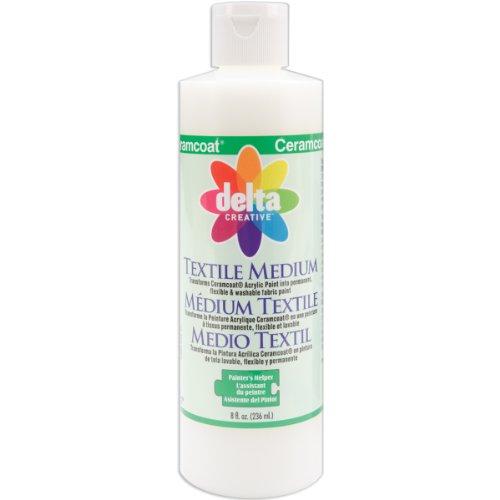 Delta Creative Ceramcoat Acrylic Paint (8-Ounce), 0802 Textile Medium