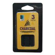 Art Alternatives Charcoal Drawing Sticks 3/Pkg-