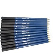 Andalus Color 26 Piece Drawing and Sketching Pencils Set – Includes Graphite and Charcoal Pencils & Sticks