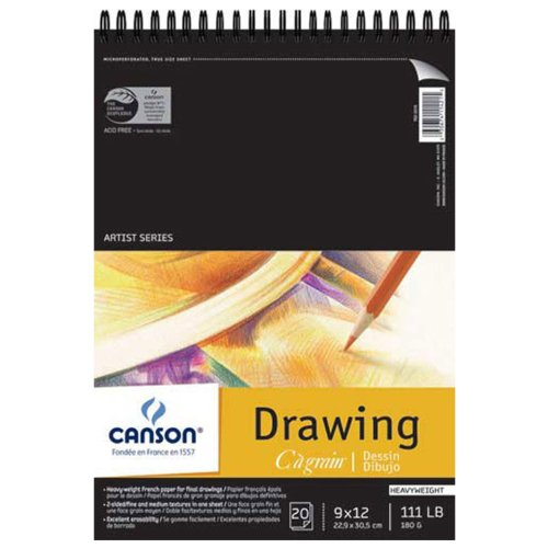 Canson C à Grain Drawing Paper Pads 9 in. x 12 in.