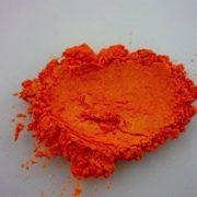 """VIVID ORANGE"" Mica Powder Pigment (Epoxy,Resin,Soap,Plastidip) Black Diamond Pigments by CCS"