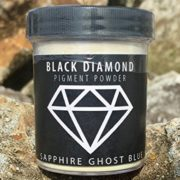 """SAPPHIRE GHOST BLUE"" Mica Powder Pigment (Epoxy,Resin,Soap,Plastidip) Black Diamond Pigments by CCS"