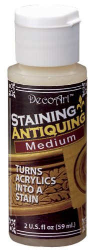 DecoArt Americana Staining/Antiquing Mediums Paint, 2-Ounce