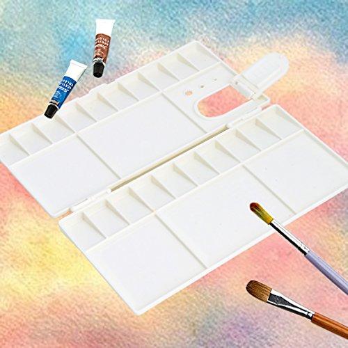 White Artist Paint Palette