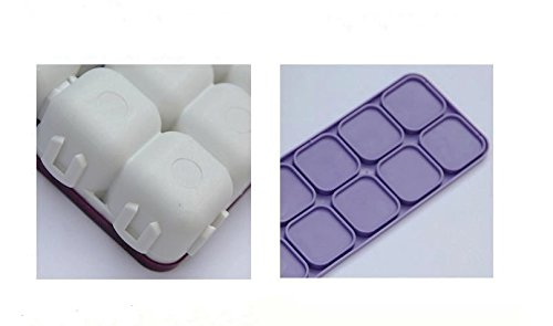 1Pcs 10 wells Plastic Palette Box with Soft Cover for Watercolor Clip-on sets, Acrylic Paints 7″X 6″x1.2′""
