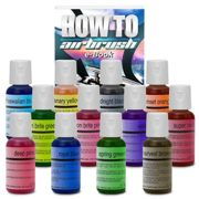 Chefmaster Cake Decorating Food Coloring Airbrush Paint Set – 12 Colors .64oz