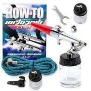 PointZero Premium Single Action 22cc Siphon Feed Airbrush Set – .8mm