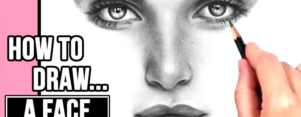 How To Draw A Realistic Face Drawing Tutorial Part 1 Eyes Nose