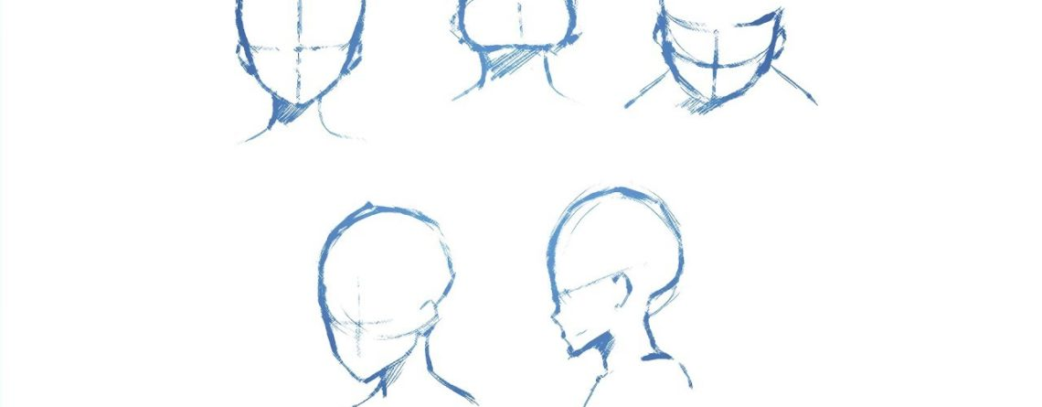 How To Draw Heads From Different Angles Drawing Tutorial