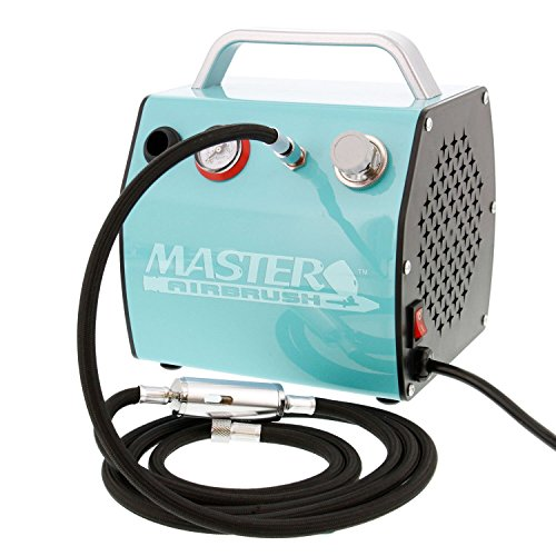 Bakery Airbrush Cake Kit with 3 Airbrushes, Compressor, 2 ...