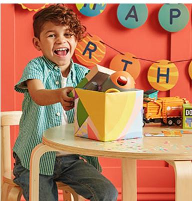 Happy Birthday Painting Supplies Store